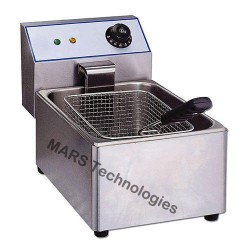 Single Table Top Deep Fat Fryer